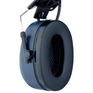 Peltor™ LiteCom two-way headset with J22 audio input, dark blue, headband