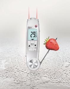 Duales Infrarot- und Einstechthermometer, testo 104-IR