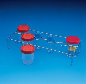 Accessories for biohazard transport carriers