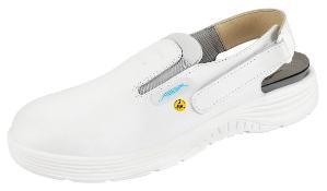 ESD-occupational shoes, x-light, clog white ESD