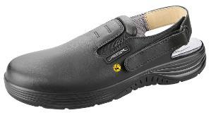 ESD-occupational shoes, x-light, clog black ESD