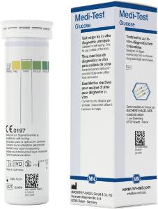 Urine test strips, Medi‑Test glucose