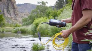 HQ series, field application, river