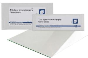 HPTLC/TLC glass plates, silica gel layer, Nano-SIL UV254, 10×20 cm