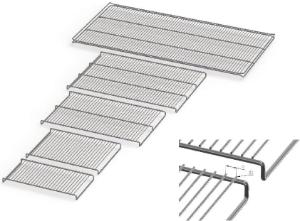 Reinforced stainless steel grids for Memmert UN/UNplus and UF/UFplus ovens