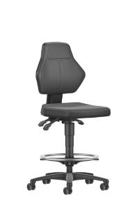 Chair economy line 2,0 PU stop go, 610 - 870 mm, side view