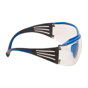 Safety spectacles, SecureFit™ 400X series, blue/grey