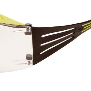 Safety spectacles, SecureFit™ 400X series, black/green