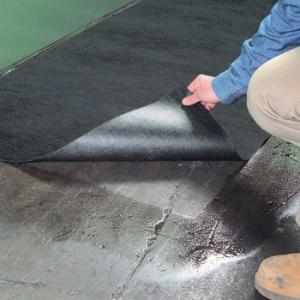 Mat roll poly-backed traffic universal